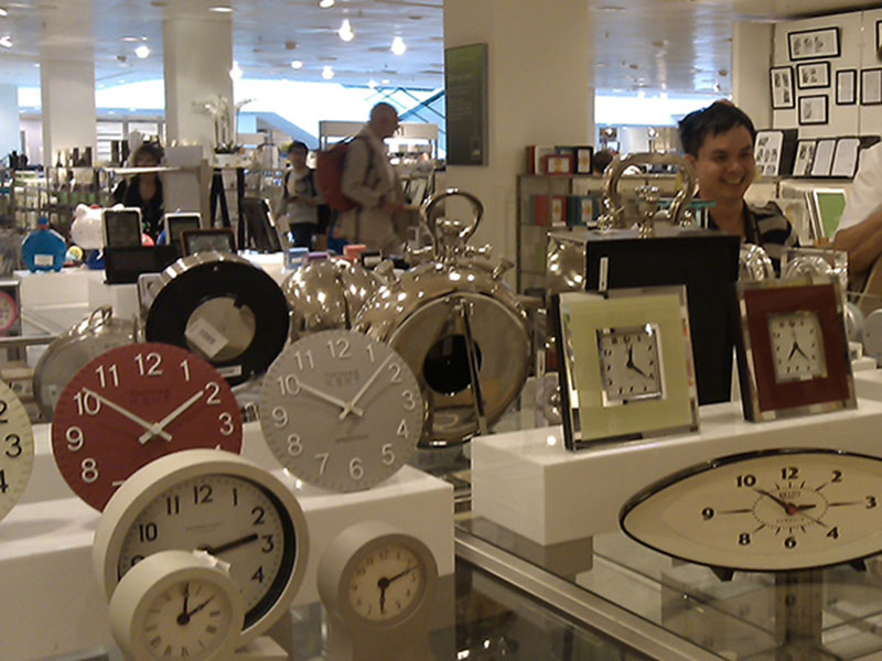 some clocks we produced and sold to UK's John Lewis Department